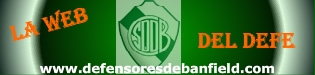 "Sitio Web del Club Defensores de Banfield | ""El Defe"" 